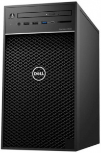 ПК Dell Precision 3630 MT i7 8700 (3.2)/8Gb/SSD256Gb/UHDG 630/DVDRW/Windows 10 Professional 64/GbitE