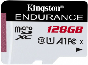 Флеш карта microSDXC 128Gb Class10 Kingston SDCE/128GB High Endurance w/o adapter фото